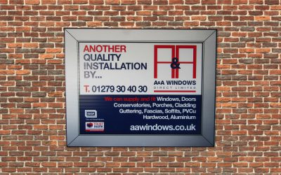 A Builders Board for window installation.