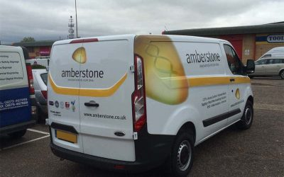 Amberstone Vehicle Rear
