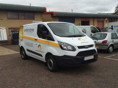 Amberstone Vehicle Wrap