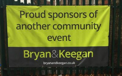 An Event Banner For Estate Agents