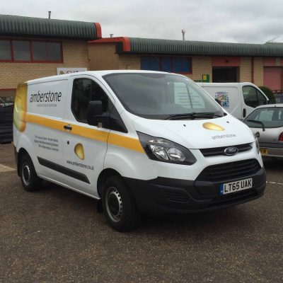 Amberstone Vehicle Graphics.