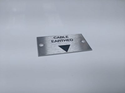 Metal Cable Label