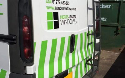 Reflective markings van