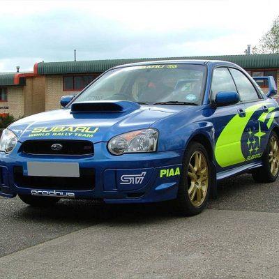 Subaru Classic Wrap