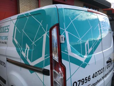 Van Rear Graphic